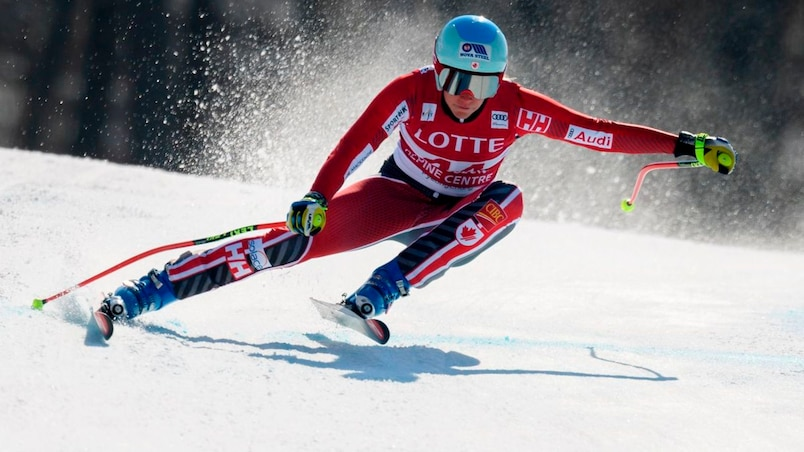 SKI-ALPINE-WORLD-WOMEN-DOWNHILL-TRAINING