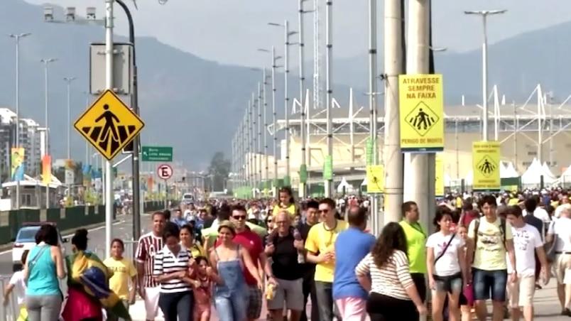 Où est le français à Rio?