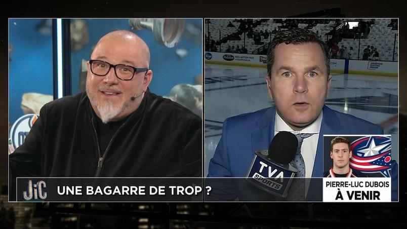 Combat Ovechkin-Svechnikov : profond désaccord entre Renaud et JiC!