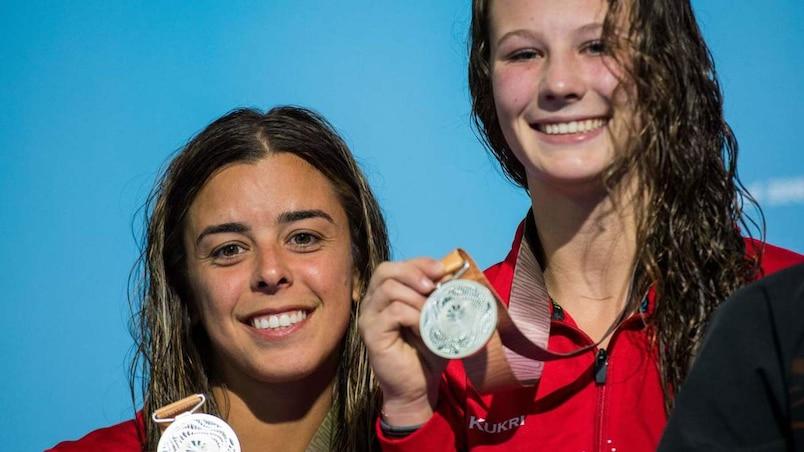 Jeux du Commonwealth: l'argent pour Meaghan Benfeito et Caeli McKay
