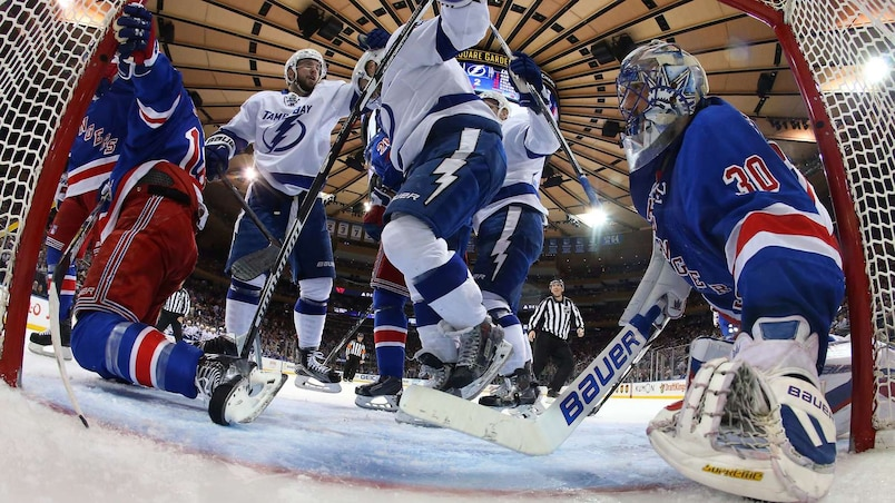 Tampa Bay Lightning v New York Rangers - Game Two
