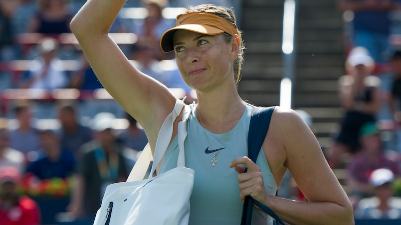Maria Sharapova impériale face à Daria Kasatkina