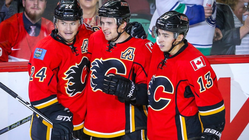 NHL: Preseason-Vancouver Canucks at Calgary Flames