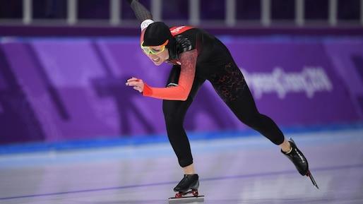 Olympiques: Ivanie Blondin 5e au 5000 mètres