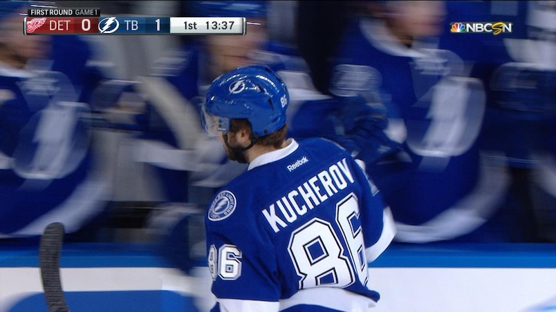 Kucherov part le bal!