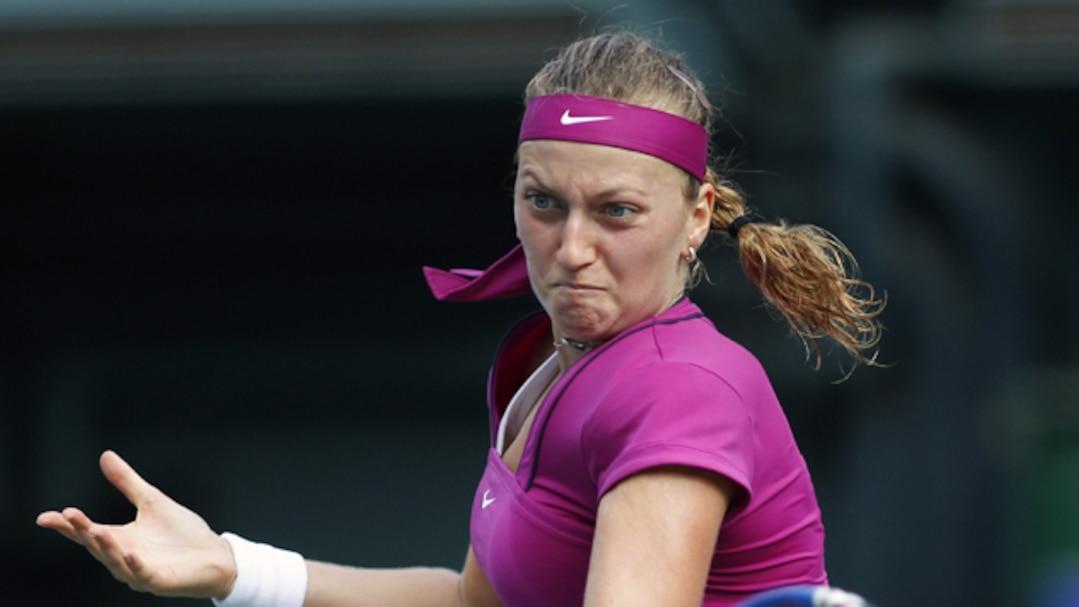 À Linz, Petra Kvitova goûte à la victoire pour la sixième fois de sa carrière.