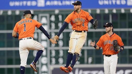 Les Astros s'amusent face aux Phillies