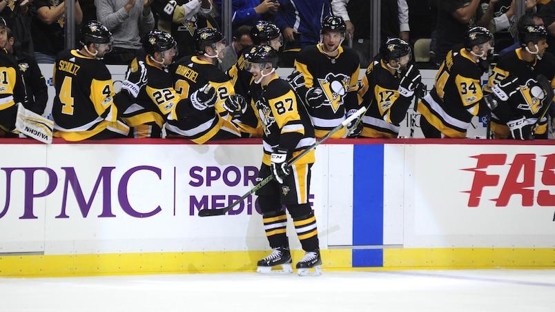 Sidney Crosby procure la victoire aux Penguins