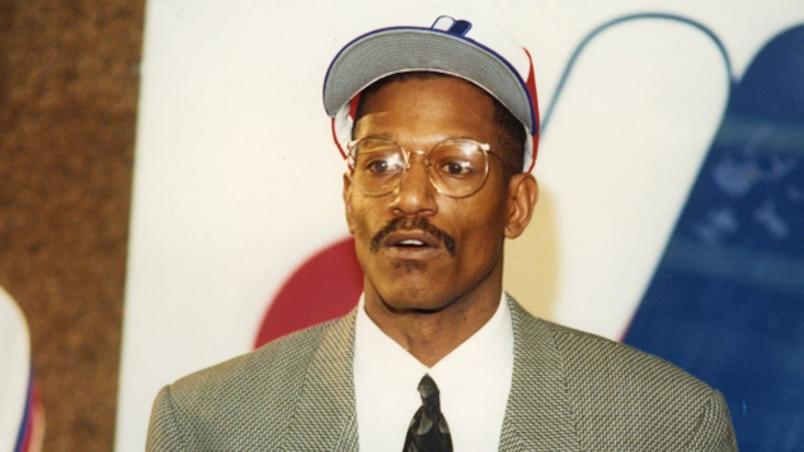 Dennis «Oil Can» Boyd a porté les couleurs des Expos en 1990 et 1991.