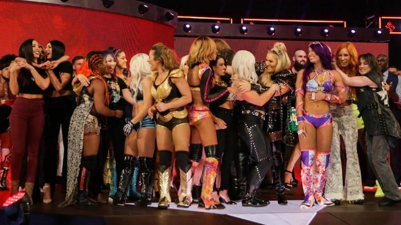 Cette semaine dans l'univers de la WWE : L'évolution continue dans la division féminine