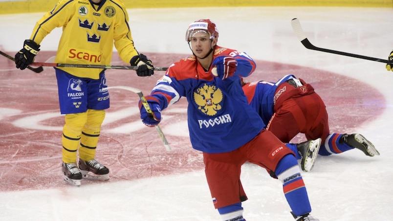 Ice Hockey - Sweden v Russia - Euro Hockey Tour