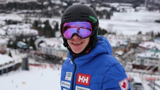 Para-ski: Alexis Guimond s'impose au slalom géant