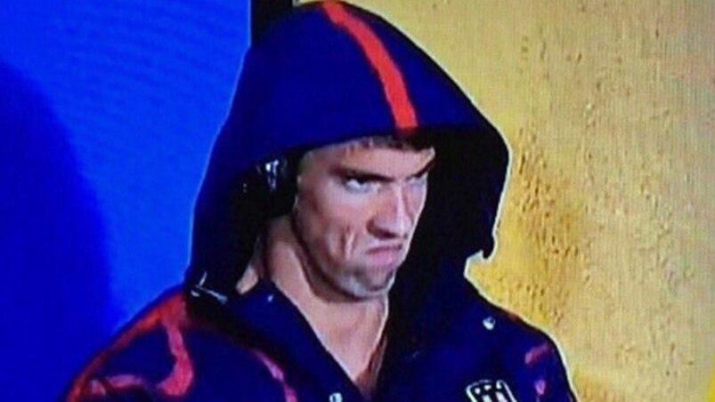 La trame sonore de la «Phelps Face»