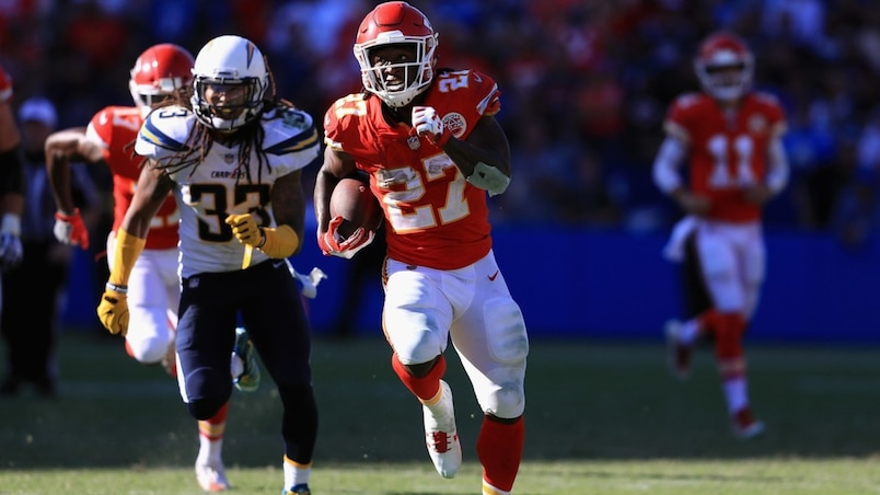 Kansas City Chiefs vLos Angeles Charger