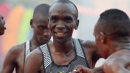 Marathon: le pari fou du Kényan Eliud Kipchoge