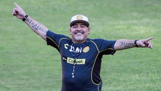 Diego Maradona devient entraîneur au Mexique