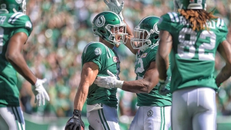 Les Roughriders stoppent les Blue Bombers