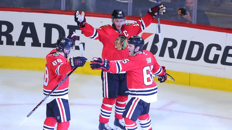Les Blackhawks mettent la table