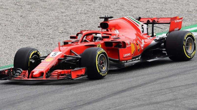 La situation se répète pour Sebastian Vettel