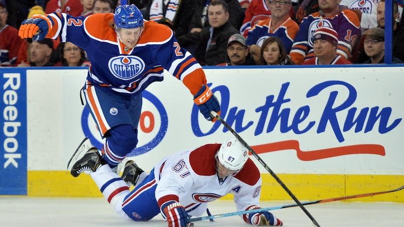 NHL: Montreal Canadiens at Edmonton Oilers