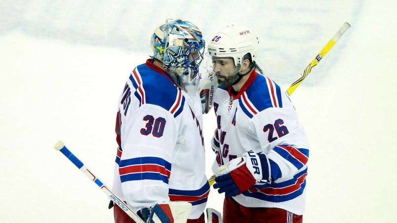 NHL: Stanley Cup Playoffs-New York Rangers at Tampa Bay Lightning