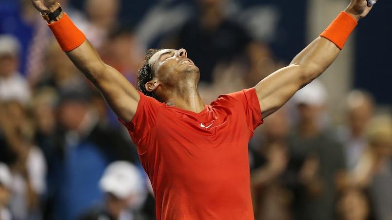 Rafael Nadal impose sa loi à Toronto