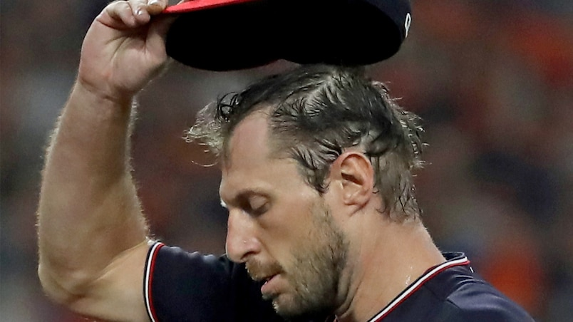 Max Scherzer incapable de lancer
