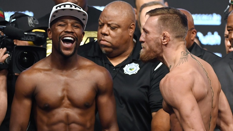 Mayweather – McGregor : des paris records au Québec!