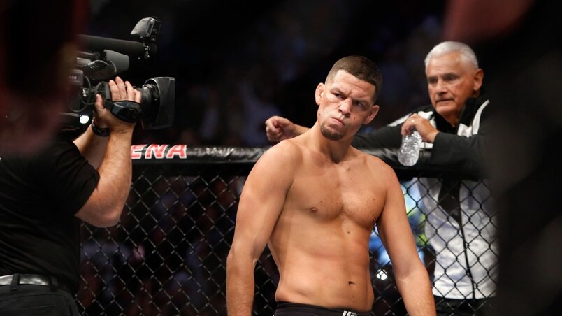 Nate Diaz frustré par les dirigeants de l'UFC