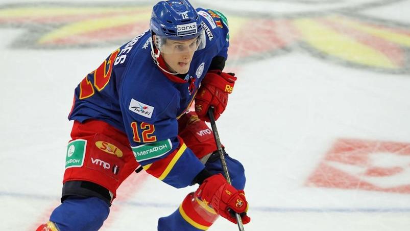 KHL : un Américain établit le record de buts
