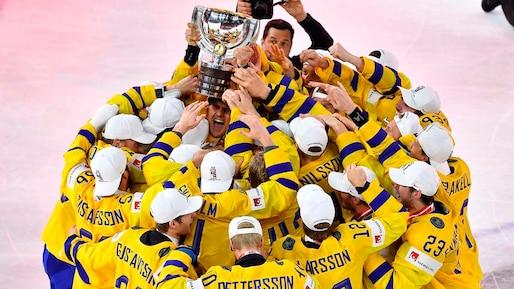La Suède toujours championne