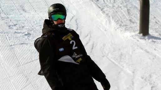 Maxence Parrot champion du slopestyle