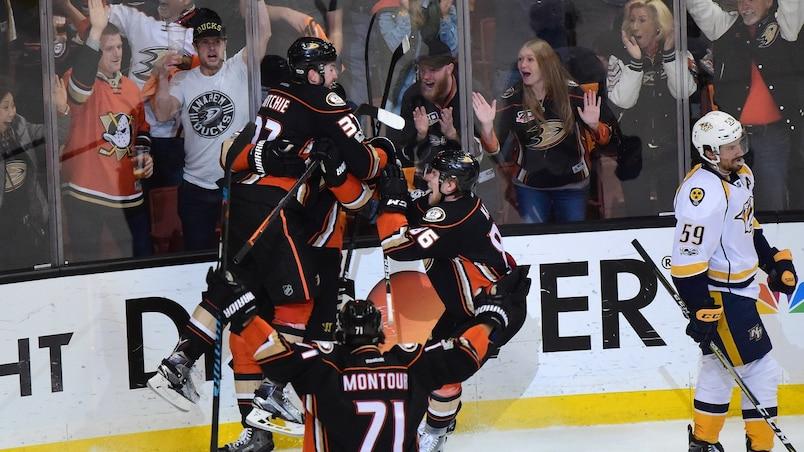 Les Ducks se sauvent avec la victoire