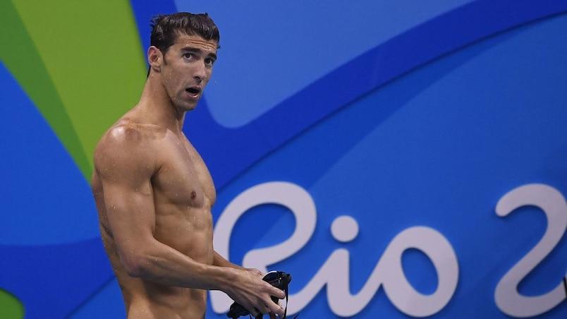 Michael Phelps en a assez!