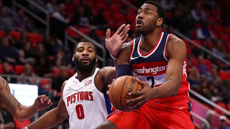 Les Wizards perdent John Wall