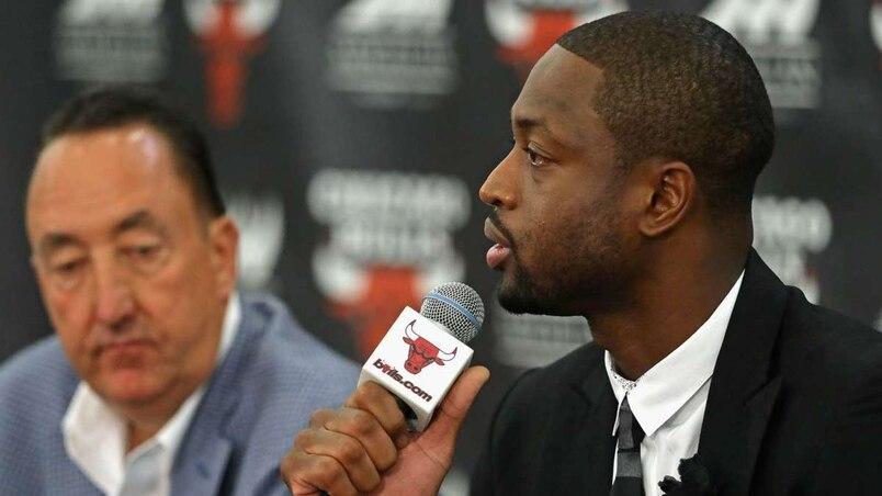 Chicago Bulls Introduce Dwyane Wade