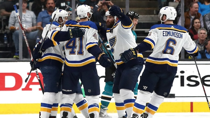 St Louis Blues v San Jose Sharks - Game Two
