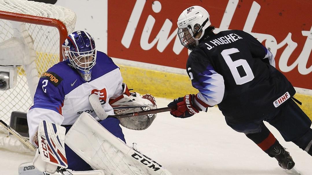 HKO-HKI-SPO-UNITED-STATES-V-SLOVAKIA---2019-IIHF-WORLD-JUNIOR-CH