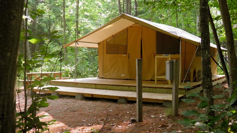 Nouveau modèle de prêt-à-camper