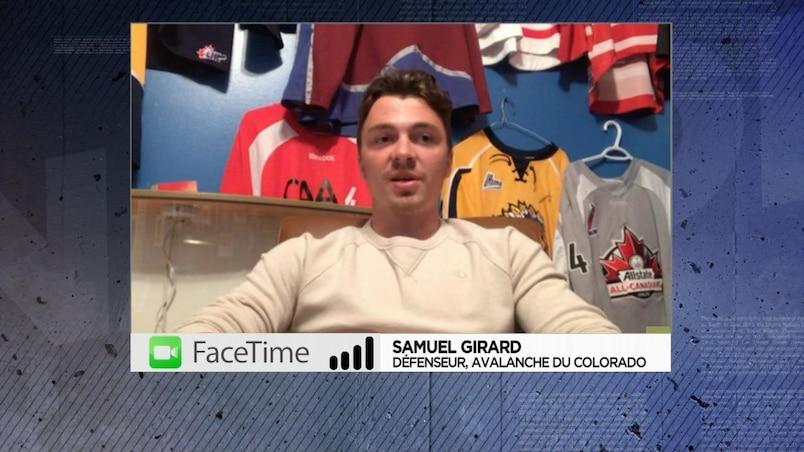 «J'ai été chanceux» - Samuel Girard