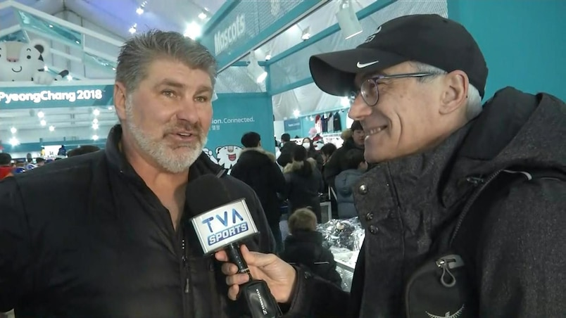 Raymond Bourque en Corée pour encourager son fils