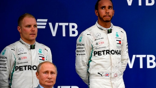 F1: Mercedes fait gagner Lewis Hamilton