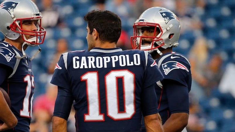 New York Giants v New England Patriots