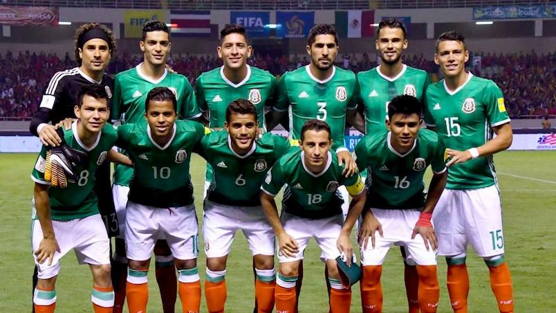 La sélection mexicaine épinglée par la presse de leur pays