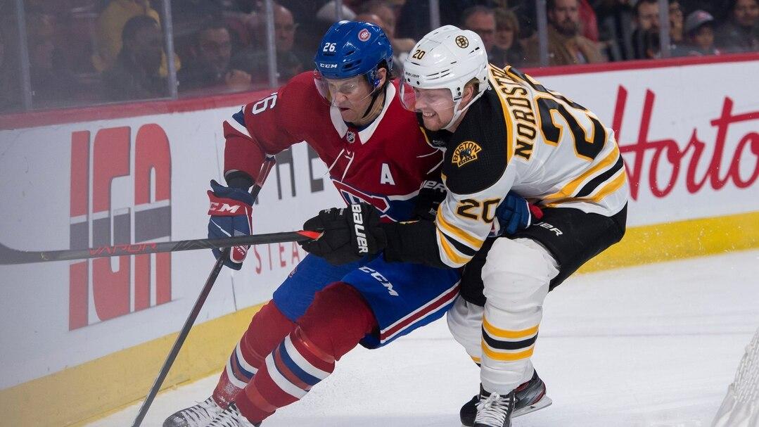 Canadiens c Bruins