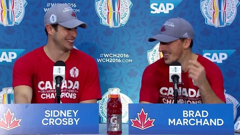 Le but de Crosby en 2010 contre celui de Marchand en 2016