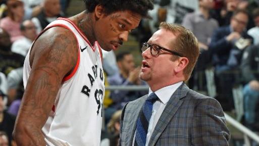 Nick Nurse promu au poste d'entraîneur-chef des Raptors?