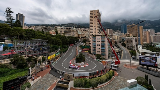 Lance Stroll loin derrière à Monaco
