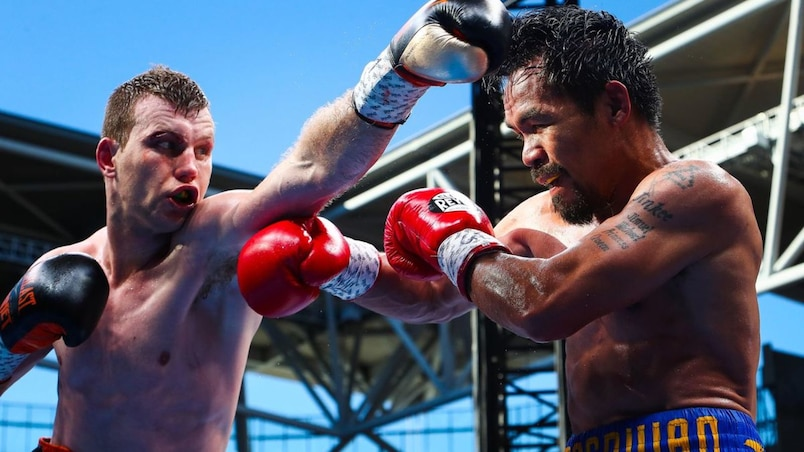 Jeff Horn cause la surprise face à Manny Pacquiao
