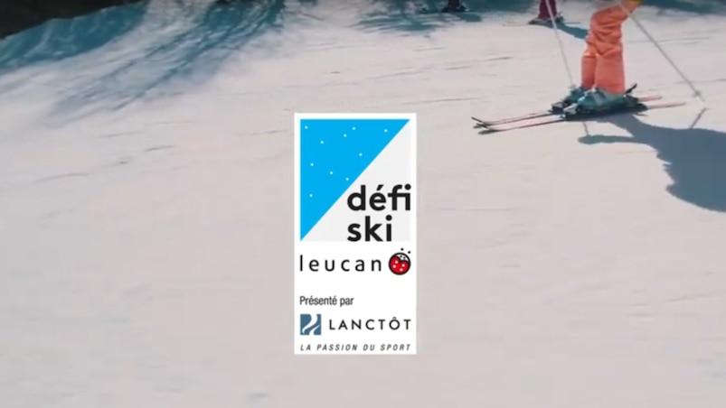 Skier pour Leucan